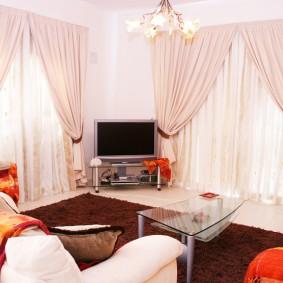 шторы для гостиной фото декор