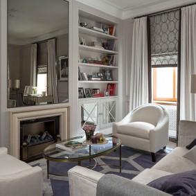 шторы для гостиной фото декора