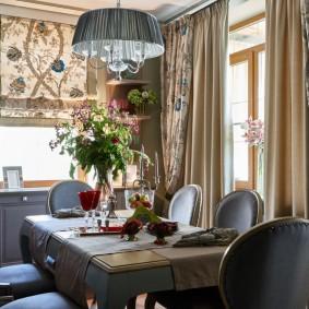 шторы для гостиной декор идеи