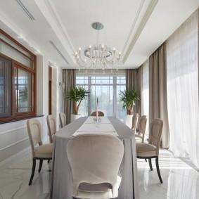 шторы для гостиной интерьер