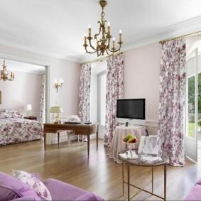 шторы для гостиной фото интерьер