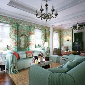 шторы в гостиной варианты идеи
