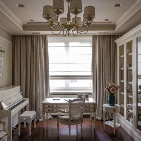 шторы в гостиной виды идеи
