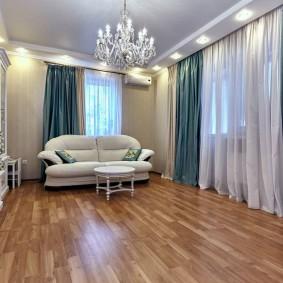 шторы в гостиную бирюзовые