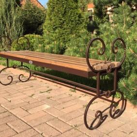 скамейки для сада фото