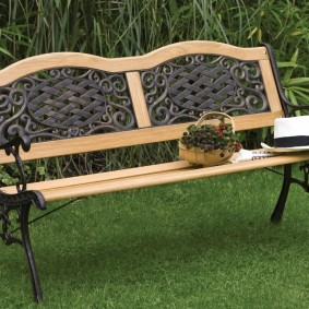 скамейки для сада фото идеи