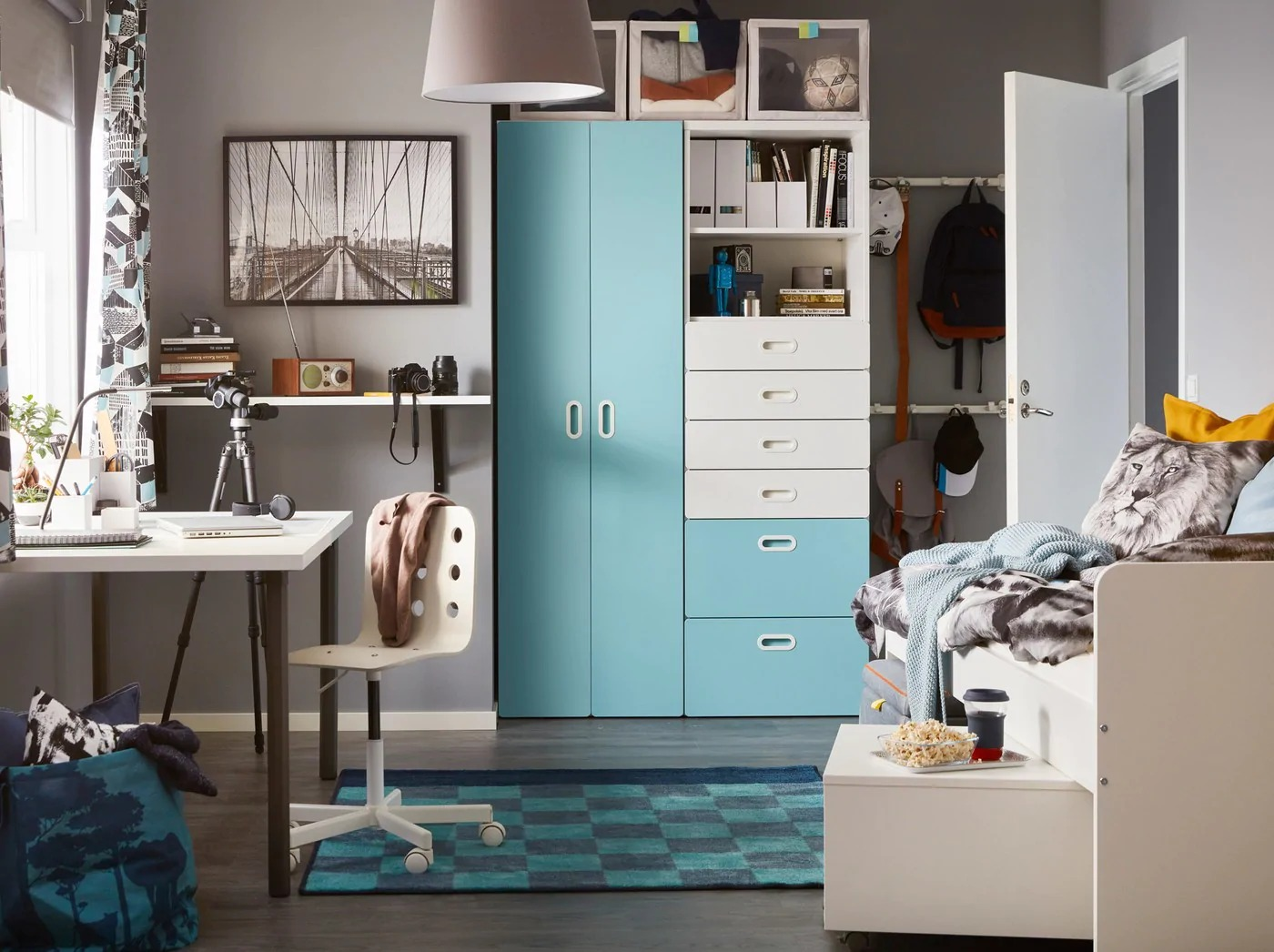 современная детская спальня