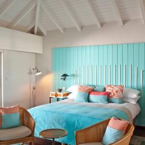 современная отделка спальни варианты