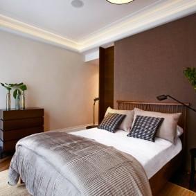 современная отделка спальни декор идеи