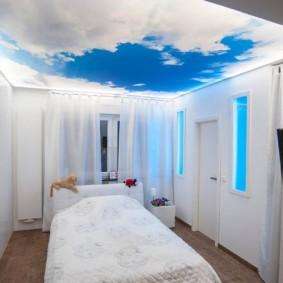 современная отделка спальни виды оформления