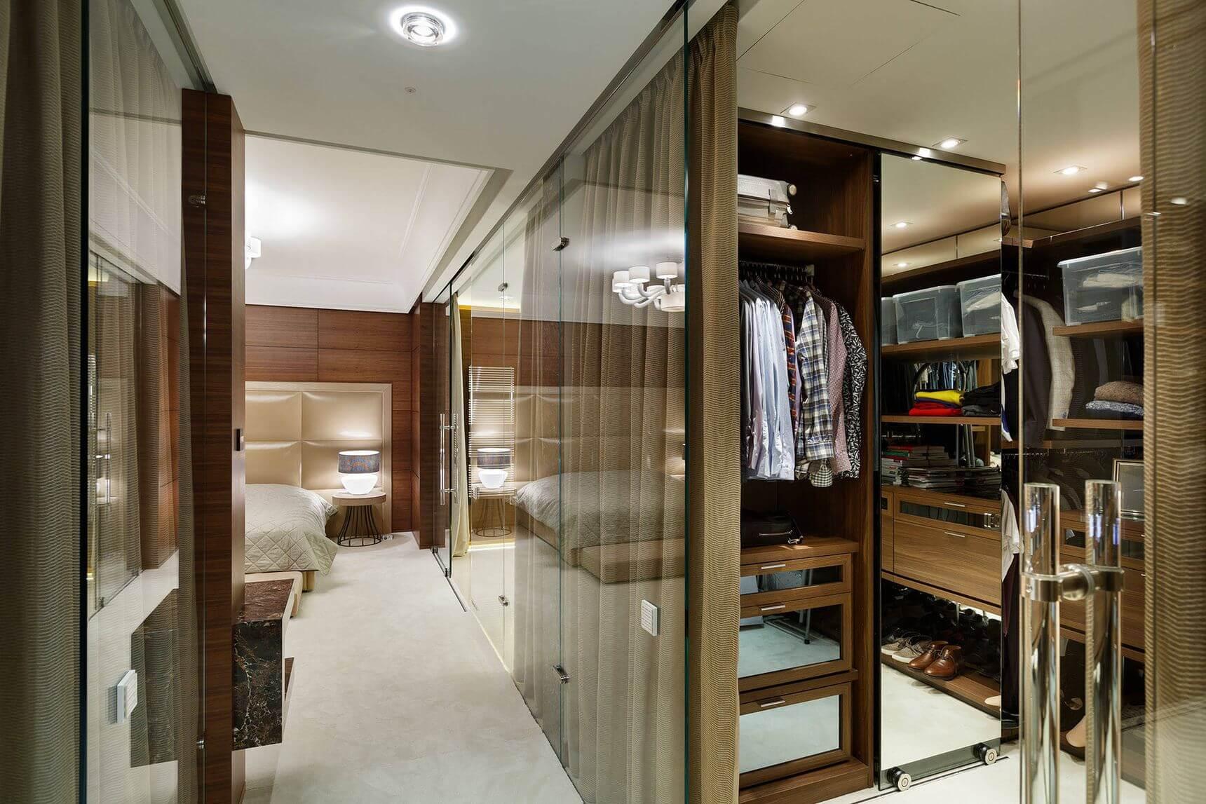 варианты перепланировки квартир гардеробная