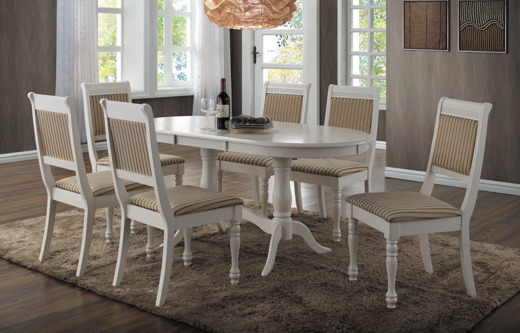 стол и стулья для гостиной фото идеи