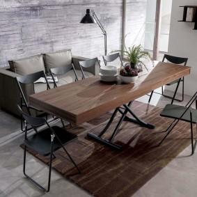 стол трансформер для гостиной дизайн идеи