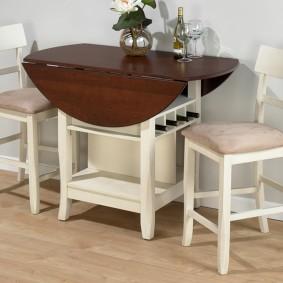 стол трансформер для гостиной идеи декора