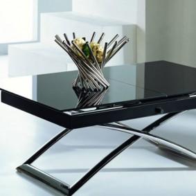 стол трансформер для гостиной интерьер идеи