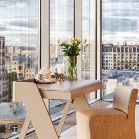 стол трансформер для гостиной идеи интерьера
