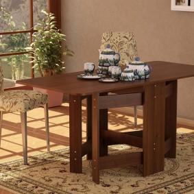 стол трансформер для гостиной фото варианты