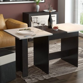 стол трансформер для гостиной варианты фото