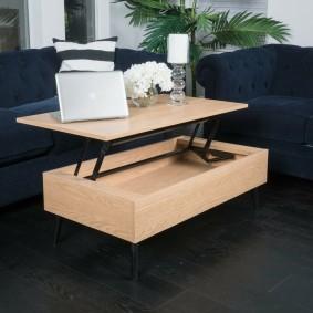 стол трансформер для гостиной фото идеи