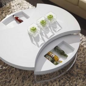 стол трансформер для гостиной фото дизайн