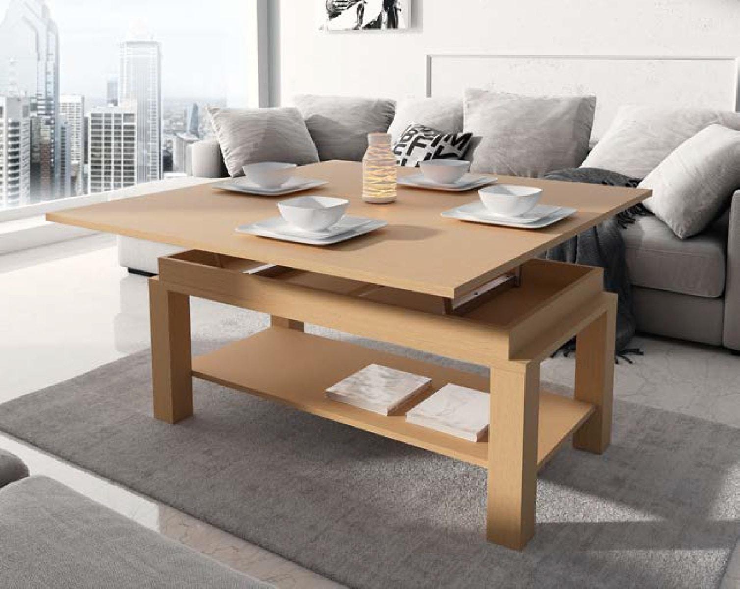 стол трансформер в гостиной дизайн идеи
