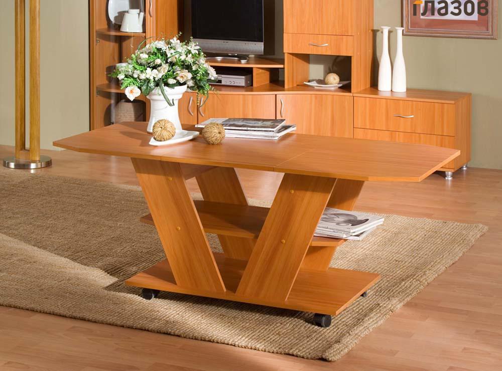 стол трансформер в гостиной идеи дизайн