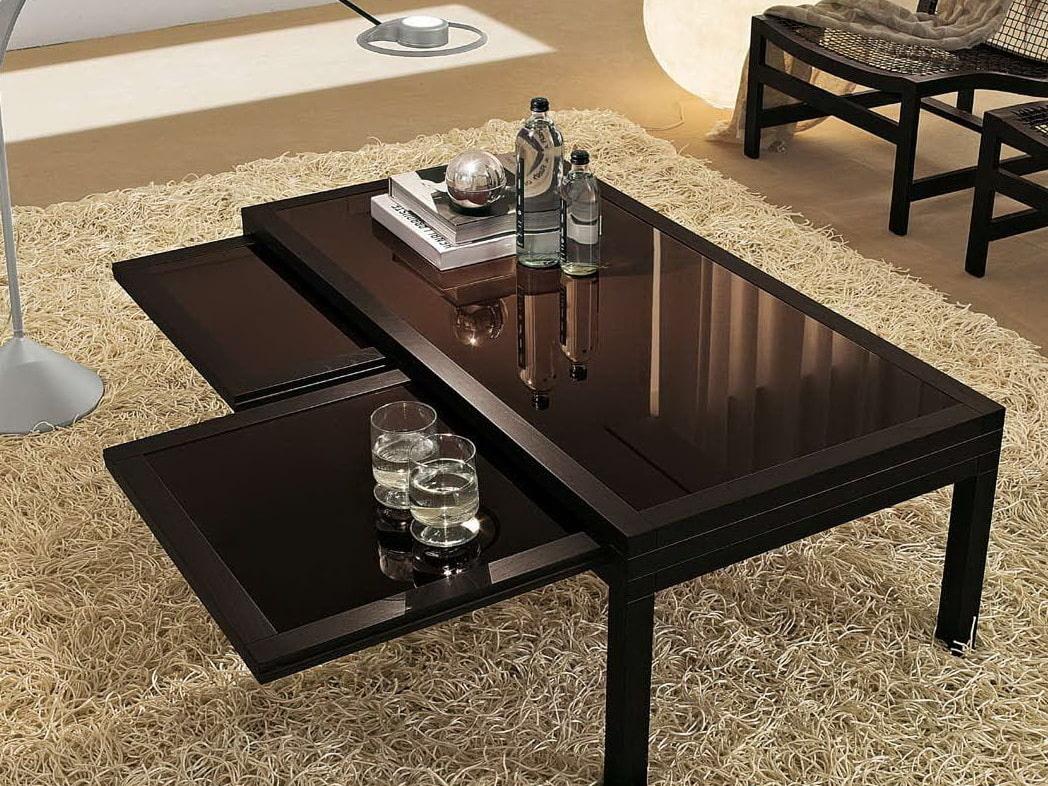 стол трансформер в гостиной оформление фото