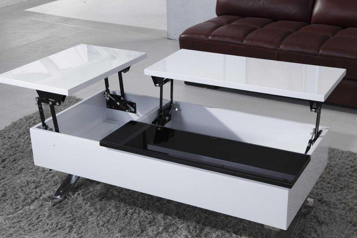 стол трансформер в гостиной оформление