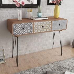 столик в прихожую идеи дизайн