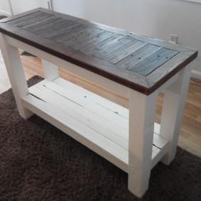 столик в прихожую идеи дизайна