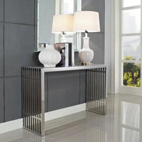 столик в прихожую виды дизайна