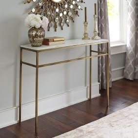 столик в прихожую фото дизайна