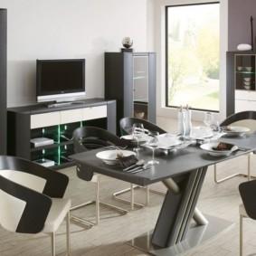 столы и стулья для гостиной обзор