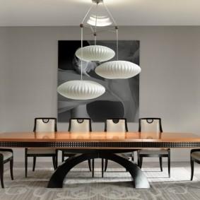 столы и стулья для гостиной фото