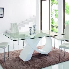 столы и стулья для гостиной фото варианты