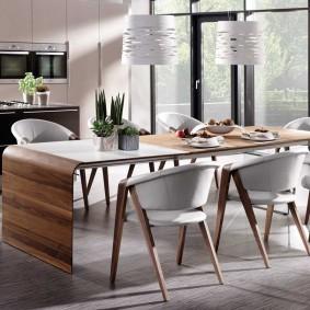 столы и стулья для гостиной дизайн