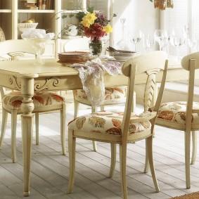 столы и стулья для гостиной фото дизайн