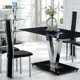 столы и стулья для гостиной декор