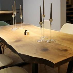 столы и стулья для гостиной интерьер