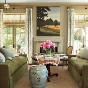 столы и стулья для гостиной оформление идеи