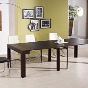 столы и стулья для гостиной идеи оформления