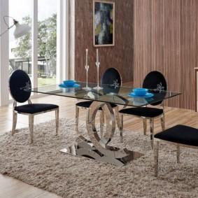 столы и стулья для гостиной идеи вариантов