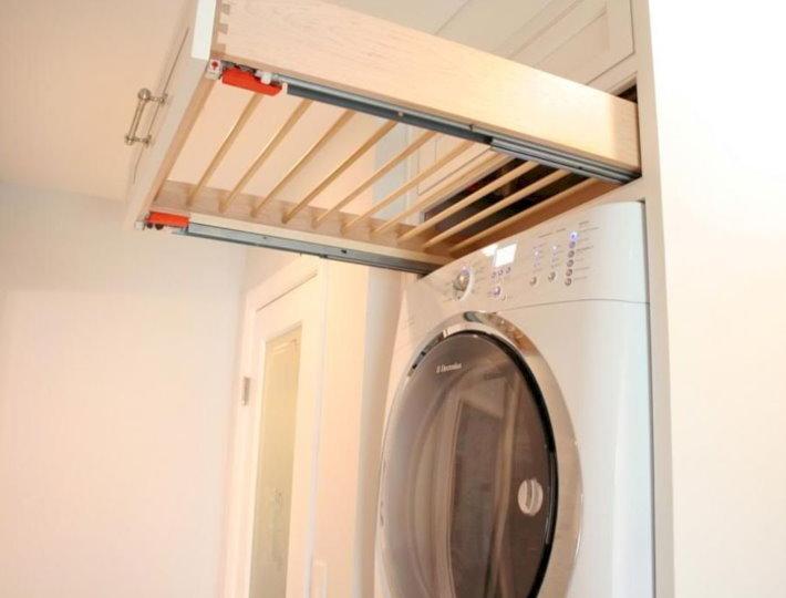 Сушилка для белья над стиральной машинкой