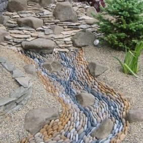сухой ручей на участке фото виды