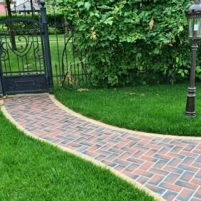 плитка для сада тротуарная