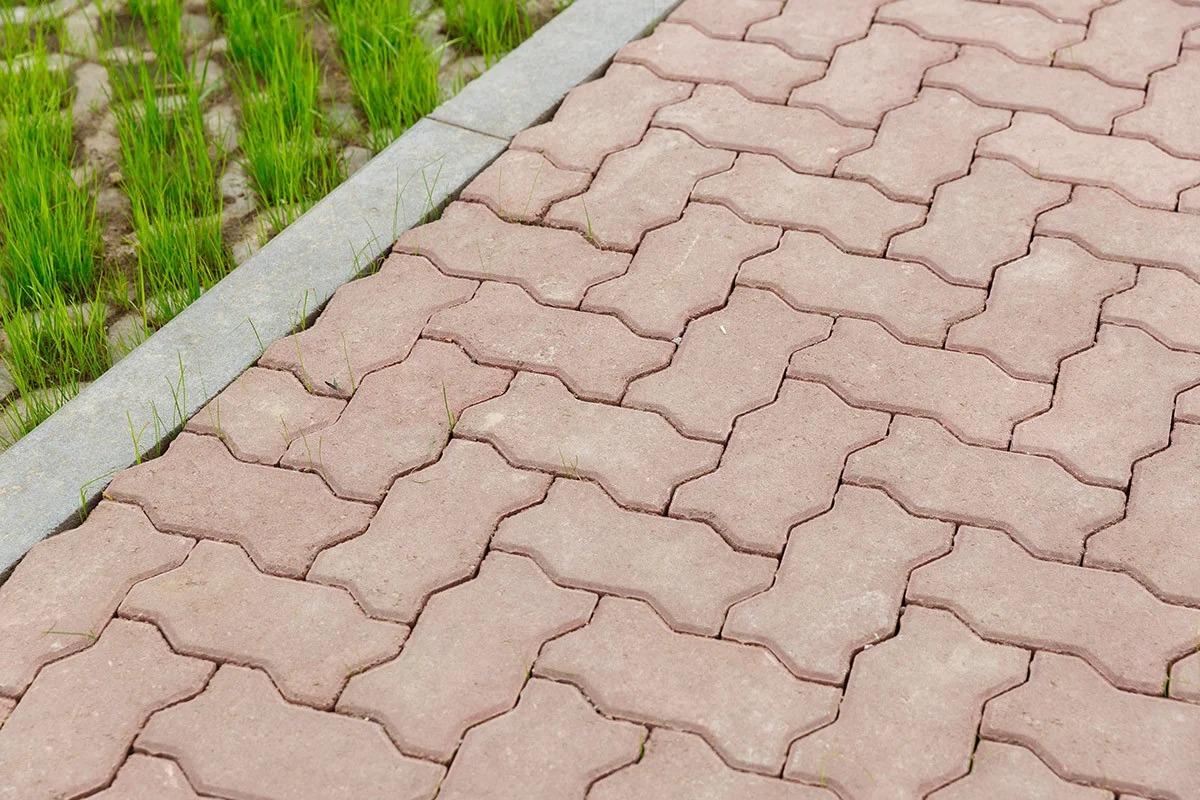 тротуарная плитка волна