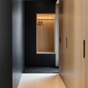 Интерьер коридора в стиле минимализма