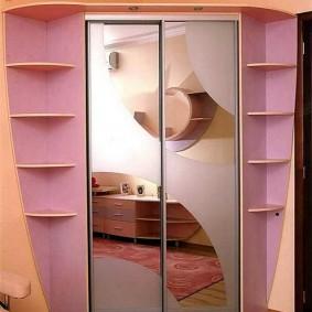 шкаф купе 40 см в прихожую виды идеи