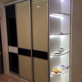 шкаф купе 40 см в прихожую виды дизайна