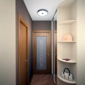 шкаф купе 40 см в прихожую виды декора